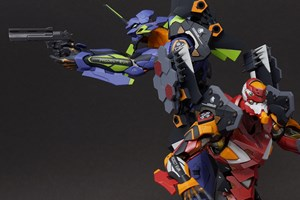 Metal Build Evangelion Units 1 and 2