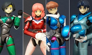 Toy Stories: Atelier Sai BubbleGum Crisis Figures